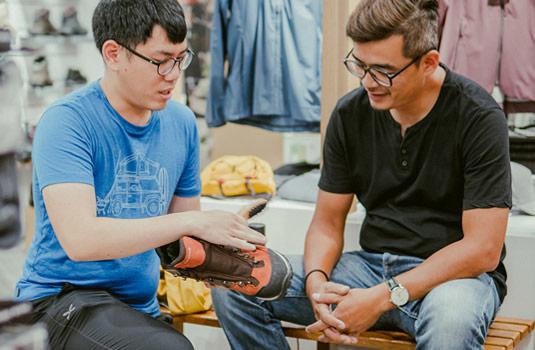墾趣 鞋子健檢與基礎保養